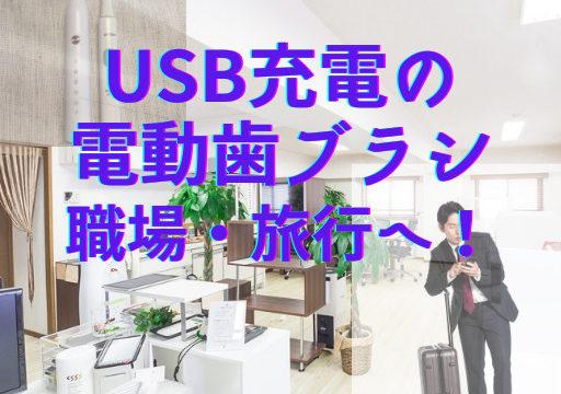 USB 電動歯ブラシ